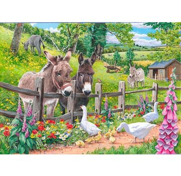 The House of Puzzles Jack & Jenny Puzzle 250 pieces XL