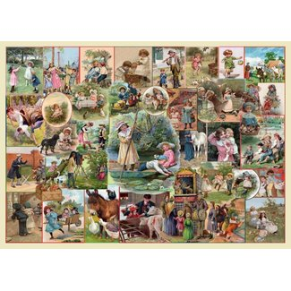 The House of Puzzles Playtime Pursuits Puzzle 250 pieces XL