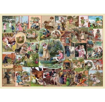 The House of Puzzles Playtime Pursuits Puzzle 250 pièces XL