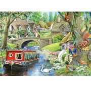 The House of Puzzles Taking it Easy Puzzle 250 pieces XL