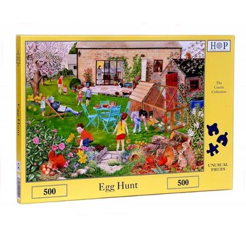 The House of Puzzles Egg Hunt Puzzle 500 pièces