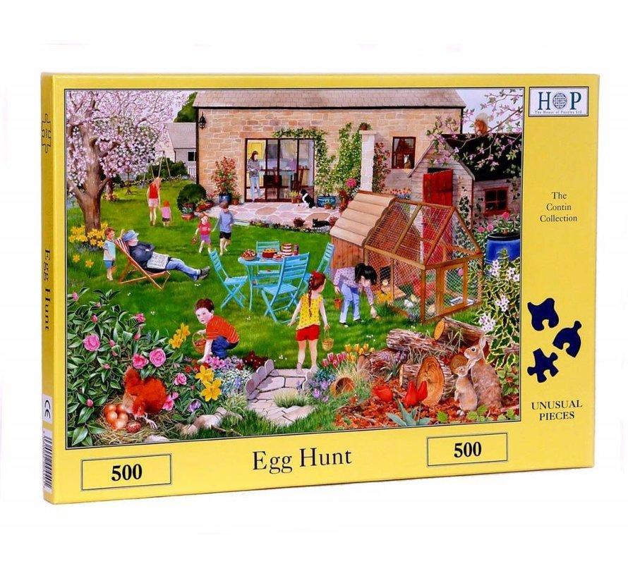 Egg Hunt Puzzel 500 stukjes