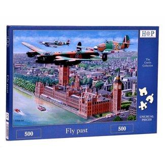 The House of Puzzles Fly Past Puzzel 500 stukjes