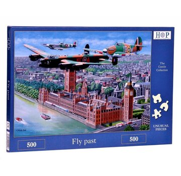 The House of Puzzles Fly Past Puzzle 500 pièces