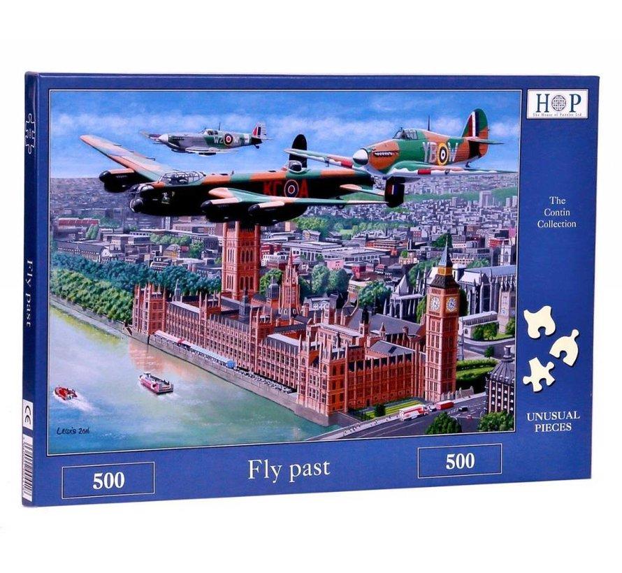 Fly Past Puzzel 500 stukjes