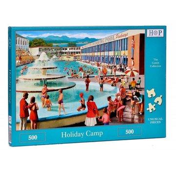 The House of Puzzles Camp de vacances Puzzle 500 pièces
