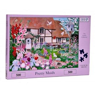 The House of Puzzles Pretty Maids Puzzel 500 stukjes