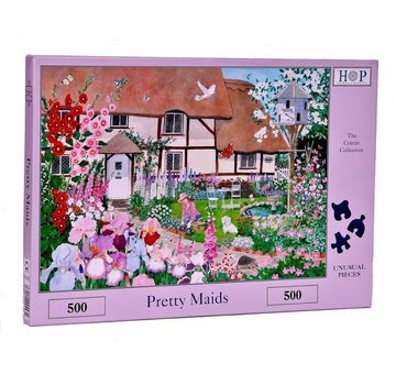 The House of Puzzles Pretty Maids Puzzel 500 stukjes