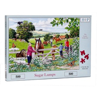 The House of Puzzles Sugar Lumps Puzzle 500 Stück