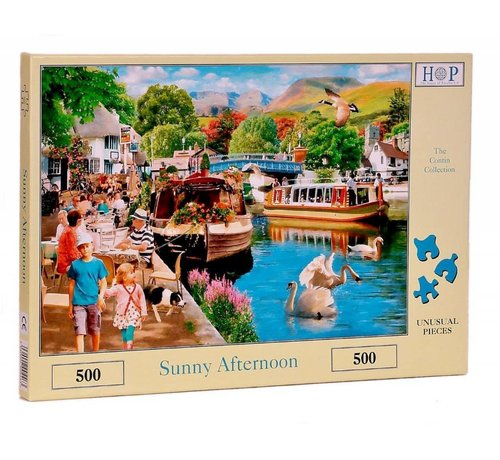The House of Puzzles Sunny Afternoon Puzzel 500 stukjes