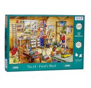 The House of Puzzles No.14 - Fred's Shed 1000 Puzzle Pieces