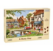 The House of Puzzles A Busy Day Puzzel 1000 stukjes
