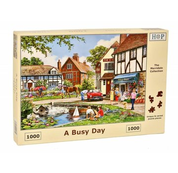 The House of Puzzles A Busy Day Puzzle 1000 pieces