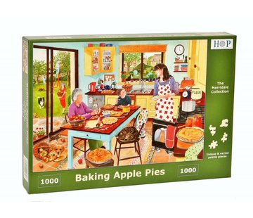 The House of Puzzles Baking Apple Pie Puzzel 1000 stukjes