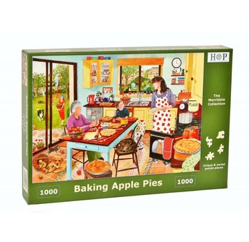 The House of Puzzles Backen-Apfelkuchen Puzzle 1000 Stück