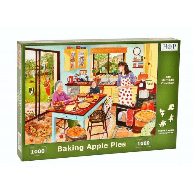 Backen-Apfelkuchen Puzzle 1000 Stück