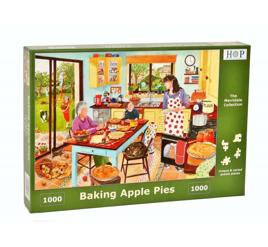 Baking Apple Pie Puzzel 1000 stukjes