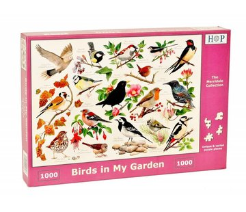 The House of Puzzles Birds in My Garden Puzzle 1000 pieces