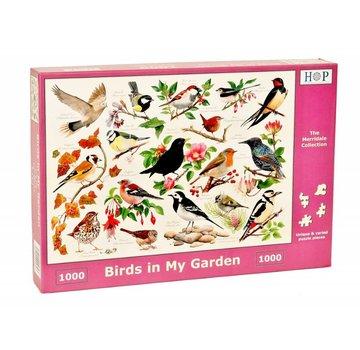 The House of Puzzles Vögel in meinem Garten Puzzle 1000 Stück