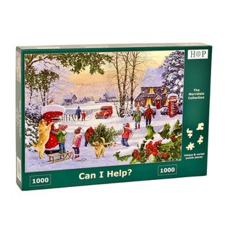 The House of Puzzles Can i Help Puzzel 1000 stukjes