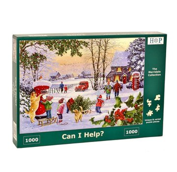 The House of Puzzles Kann ich Hilfe Puzzle 1000 Stück