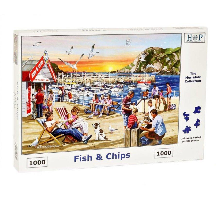 Fish and Chips Puzzel 1000 stukjes