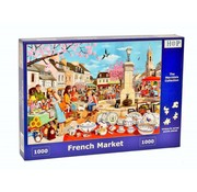 The House of Puzzles French Market Puzzle 1000 pieces