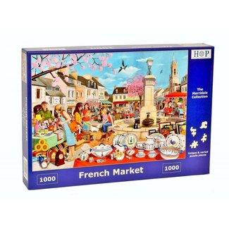 The House of Puzzles French Market Puzzel 1000 stukjes