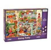 The House of Puzzles Going Potty Puzzle 1000 pieces
