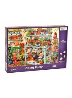 The House of Puzzles Going Potty Puzzel 1000 stukjes