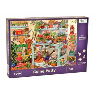 The House of Puzzles Gehen Potty Puzzle 1000 Stück