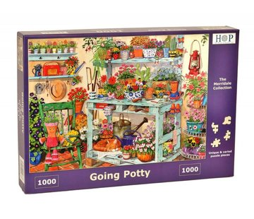 The House of Puzzles Going Potty Puzzel 1000 stukjes