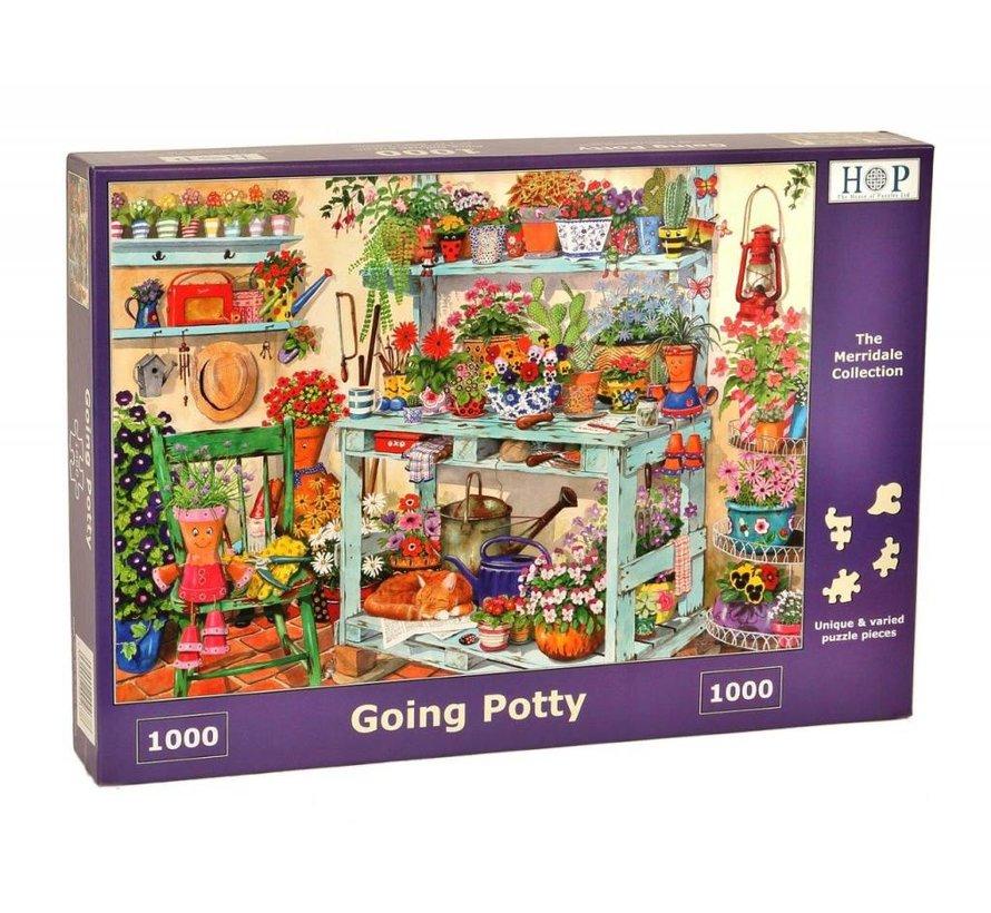 Going Potty Puzzel 1000 stukjes