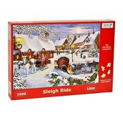 The House of Puzzles Sleigh Ride Puzzle 1000 pieces