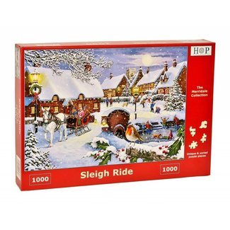 The House of Puzzles Sleigh Ride Puzzel 1000 stukjes