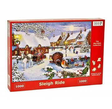 The House of Puzzles Sleigh Ride Puzzel 1000 stukjes