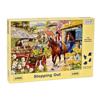 The House of Puzzles Stepping Out Puzzle 1000 Stück
