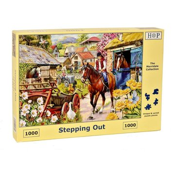 The House of Puzzles Stepping Out Puzzle 1000 pieces
