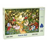 The House of Puzzles Faerie Dell Puzzle 500 pieces XL