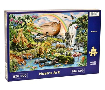 The House of Puzzles Noah's Ark Puzzel 500 XL stukjes