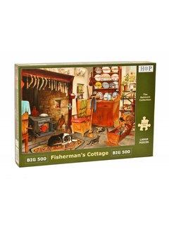 The House of Puzzles Fisherman's Cottage Puzzel 500 XL stukjes