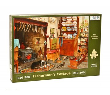 The House of Puzzles Fisherman's Cottage Puzzel 500 XL stukjes