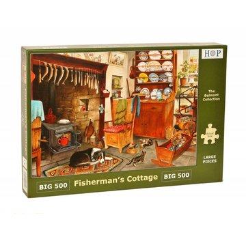 The House of Puzzles Fischerhütte Puzzle 500 Stück XL