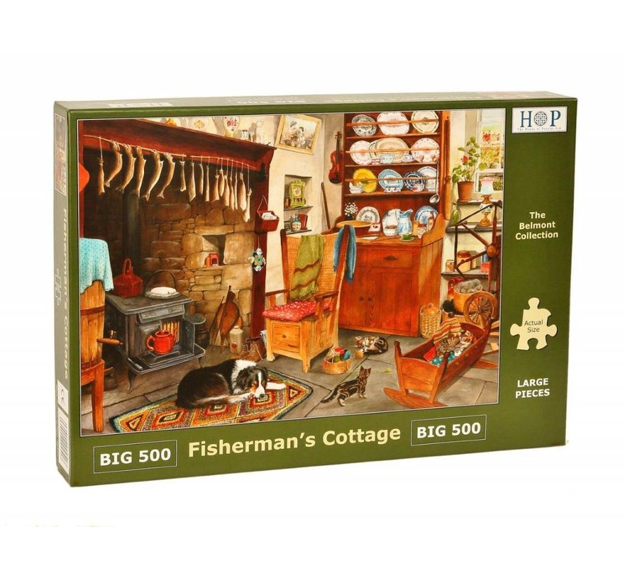 Fisherman's Cottage Puzzel 500 XL stukjes