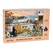 The House of Puzzles Herding the Flock Puzzle 500 pieces XL