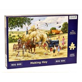 The House of Puzzles Making Hay Puzzel 500 XL stukjes