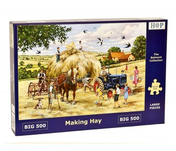 The House of Puzzles Making Hay Puzzel 500 XL stukjes
