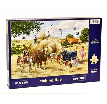 The House of Puzzles Making Hay Puzzle 500 pieces XL