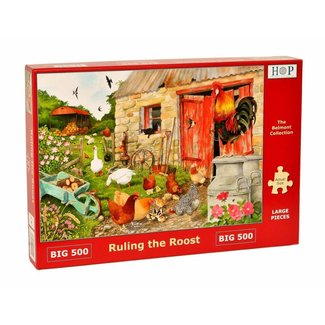 The House of Puzzles Ruling the Roost Puzzel 500 XL stukjes