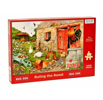 The House of Puzzles Ruling The Roost Puzzle 500 Stück XL